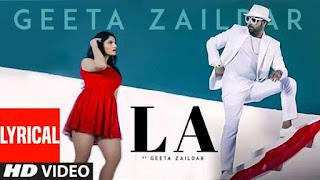 La Lyrics Geeta Zaildar