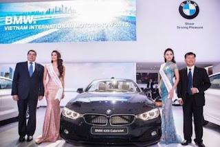 Thaco nhận BMW từ Euro Auto