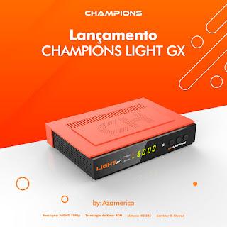 AZAMERICA CHAMPIONS LIGHT GX PRIMEIRA ATUALIZAÇÃO V1.08