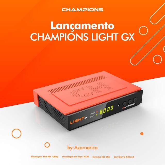 AZAMERICA CHAMPIONS LIGHT GX PRIMEIRA ATUALIZAÇÃO V1.08 - 26/07/2021