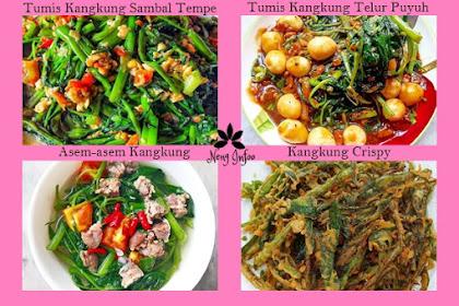 Kreasi Resep Tumis Kangkung