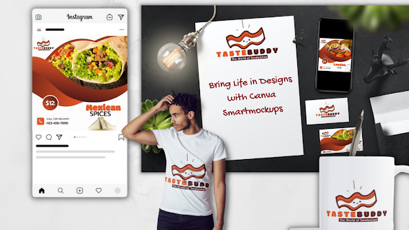 How to Bring Life in Designs with Canva Smartmockups