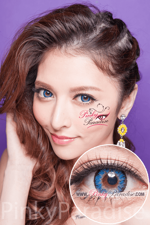 G&G Aurora Blue Circle Lenses (Colored Contacts)