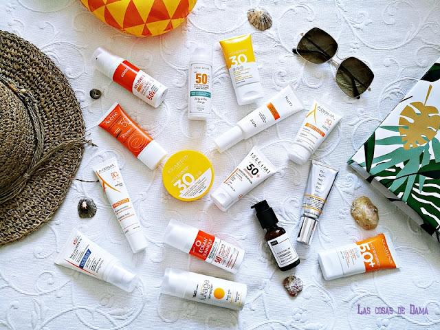 Protección Solar Facial antiaging antienvejecimiento sunprotect beauty salud belleza antiedad manchas