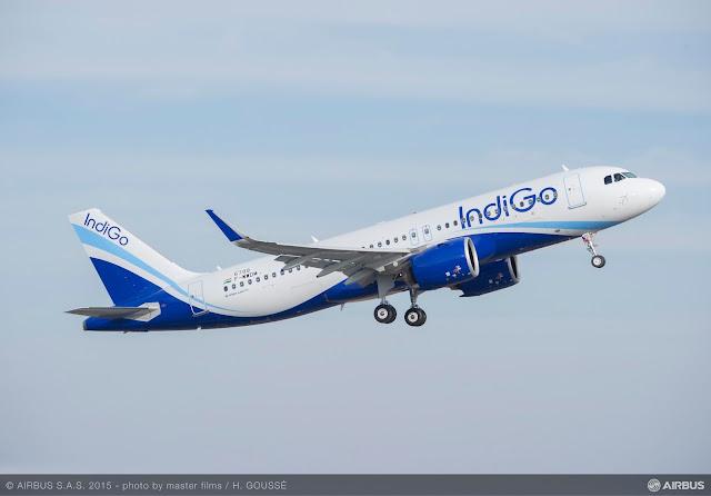 IndiGo da Índia recebe seu primeiro A320neo