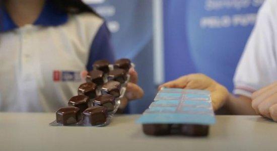 Alunos do SESI de Escada desenvolvem chocolate que previne a saúde contra a Covid-19