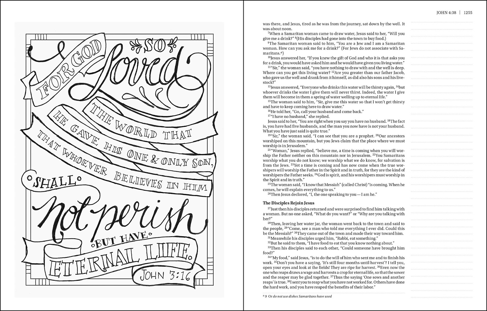 The Beautiful Word Coloring Verse Bible