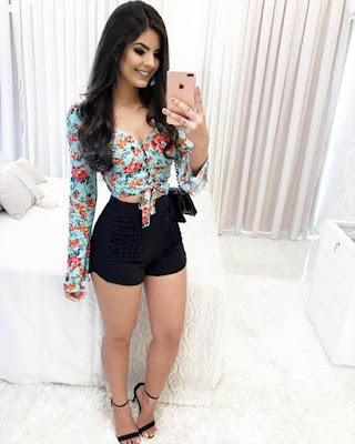 outfit elegante con shorts