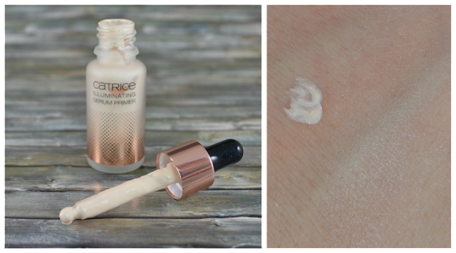 Catrice Prêt à Lumière LE Illuminating Serum Primer CO1 Luminious Lights und Swatch