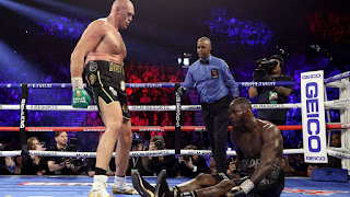 BOXEO - Tyson Fury regresa a la máxima gloria de los pesos pesados