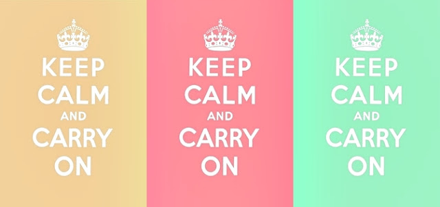 Que Significa Keep Calm: In A Little While: Keep Calm And Carry On
