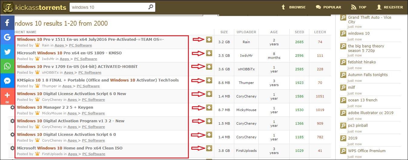 Bit crack torrent with download 64 10 windows iso Download Windows