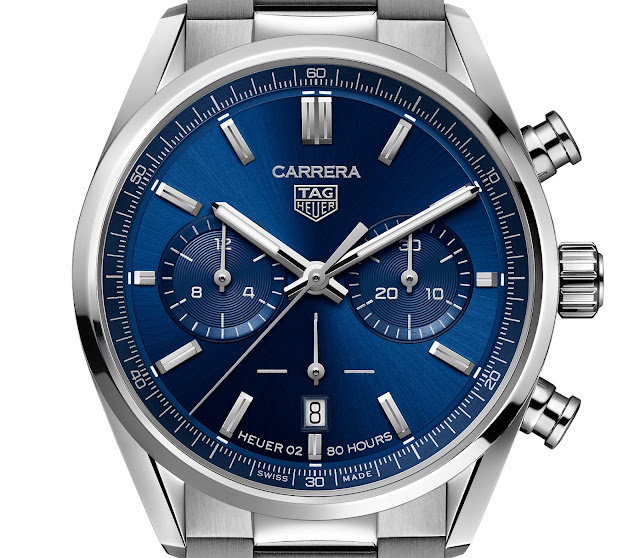 New TAG Heuer Carrera 160th Anniversary 42mm Heuer 02 Steel Watch Replica