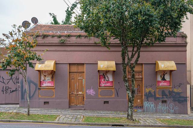 Casa na Rua Barão de Antonina, Curitiba