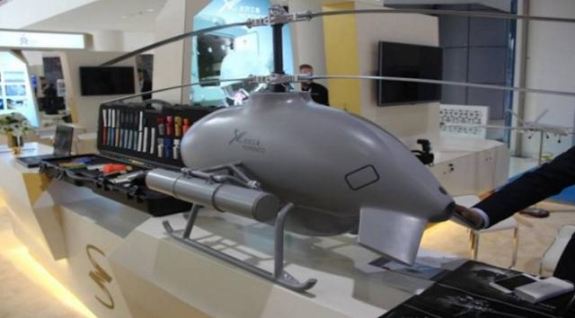 Drone Canggih Buatan Cina Memiliki Senjatan Militer