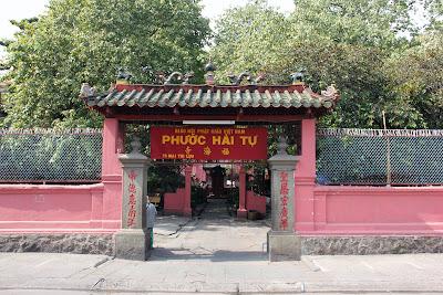 Gateway to the Jade Emperor Pagoda