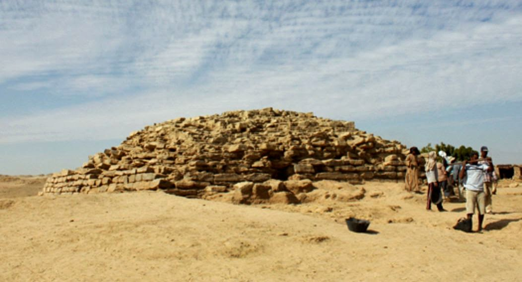 4,600-year-old step pyramid discovered in Egypt