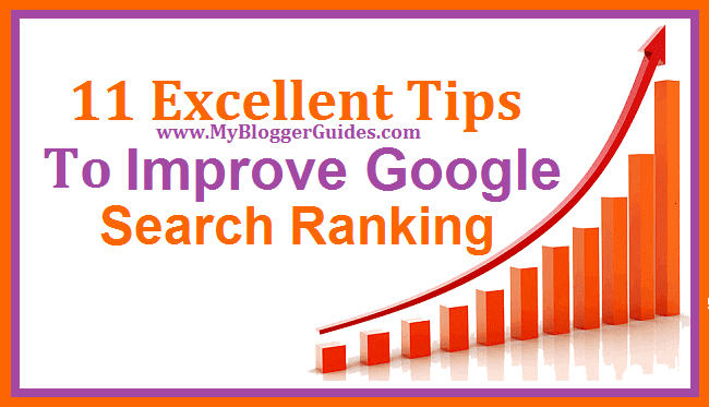 Improve Google Search Ranking, Get Higher Rank In Google Search Result