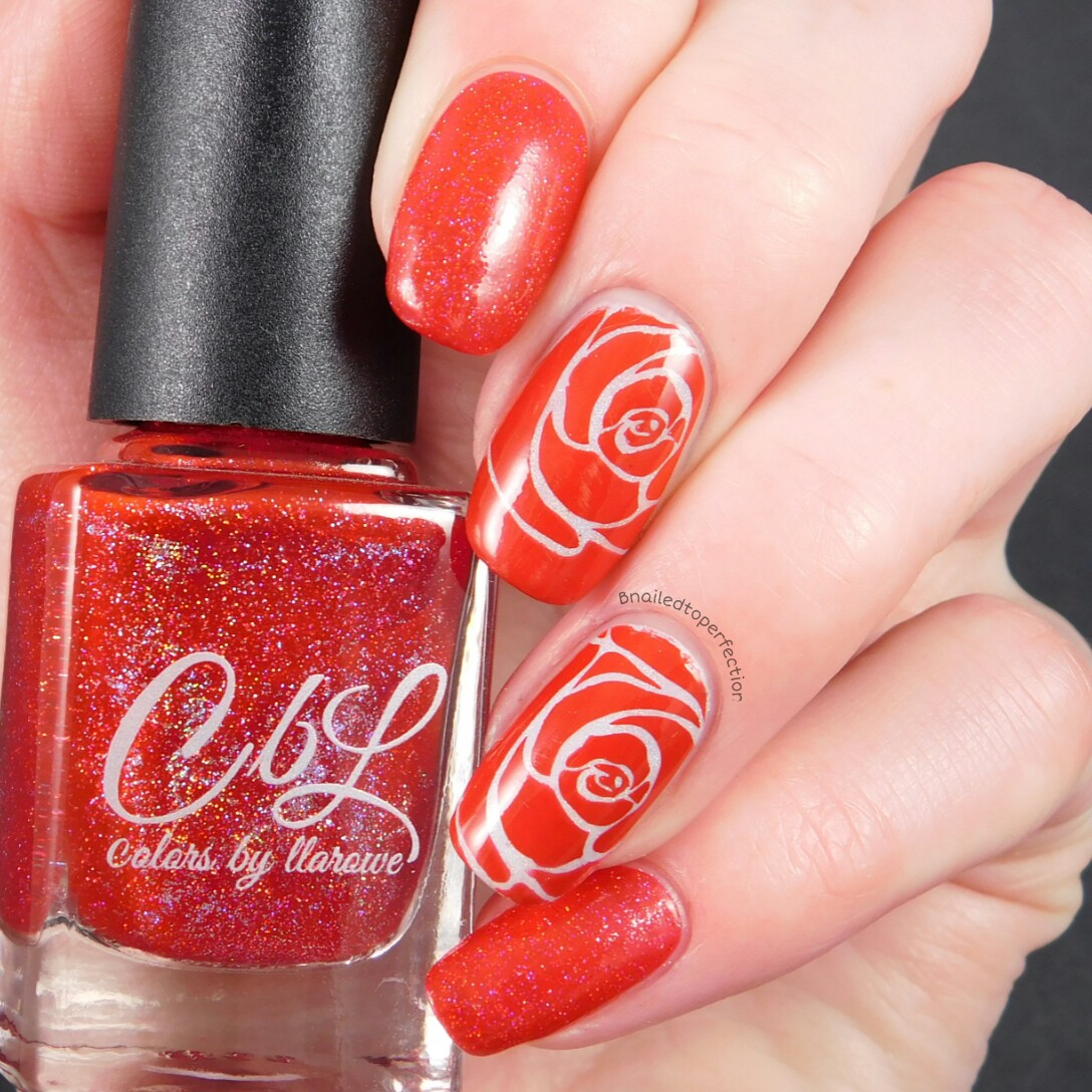 B Nailed To Perfection 40 Great Nail Art Ideas Red Accent Nail