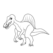 Baby Spinosaurus Coloring Sheet Images