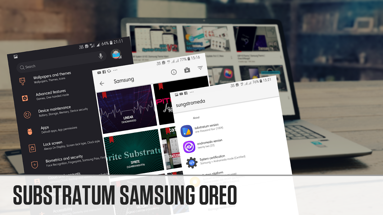 Cara Memasang Substratum Tema Di Samsung Oreo - Thobby Blog