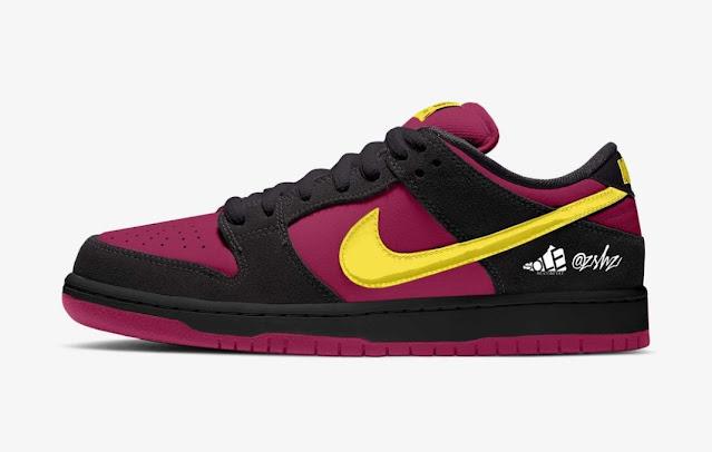 Nike SB Dunk Low Red Plum