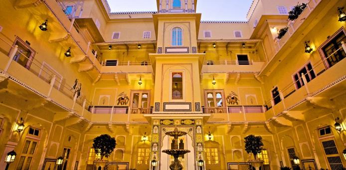 जयपुर का आलीशान होटल