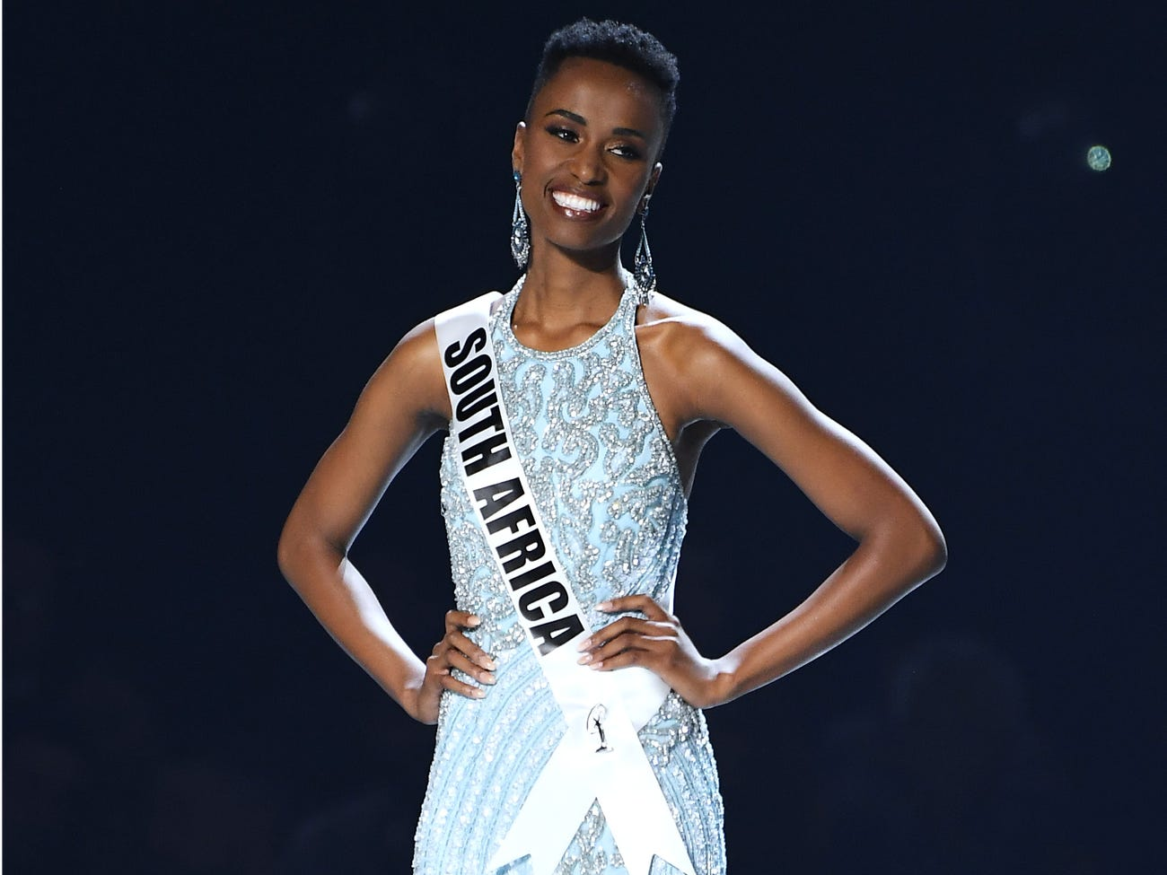 Miss South Africa at the 2019 Miss Universe pageant