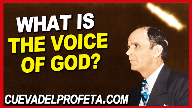 What is the Voice of God - William Marrion Branham Quotes