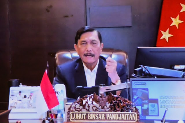Menteri Marves : Mobilitas Masyarakat Harus Ditekan Hingga 50% untuk Landaikan Kurva Covid-19