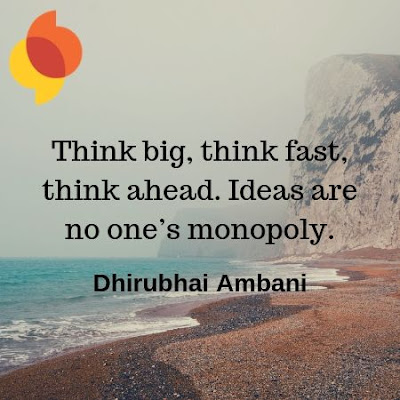 Dhirubhai Ambani Motivational WhatsApp DP | Profile Picture