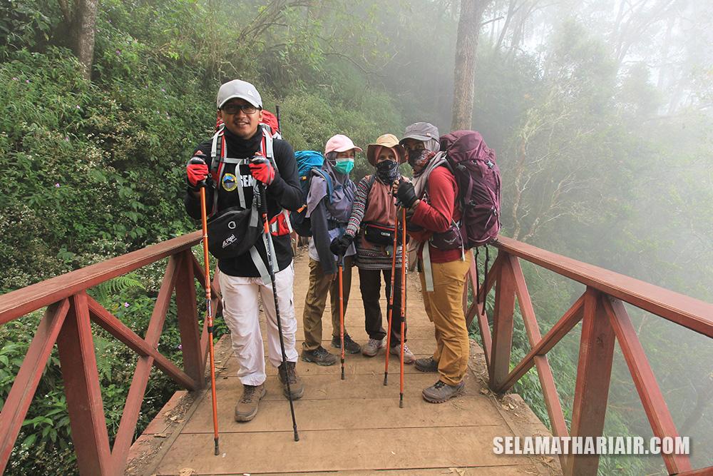 Jembatan Hits Gunung Semeru
