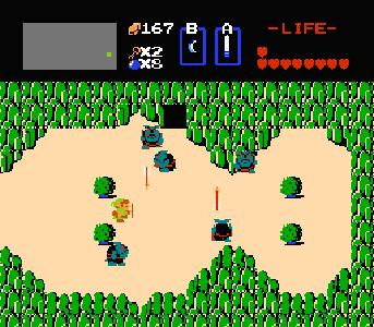 Zelda 1 hyrule