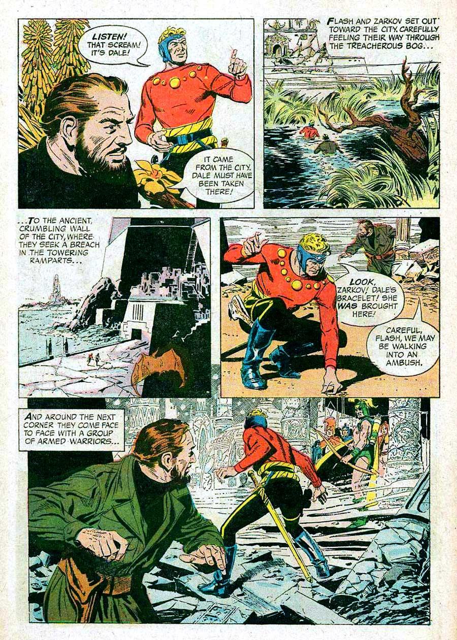 Flash Gordon v4 #4 1960s silver age science fiction comic book page art by Al Williamson