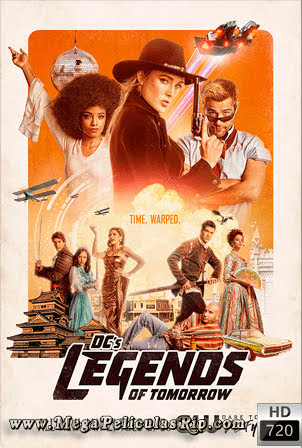 Legends Of Tomorrow Temporada 5 [720p] [Latino-Ingles] [MEGA]