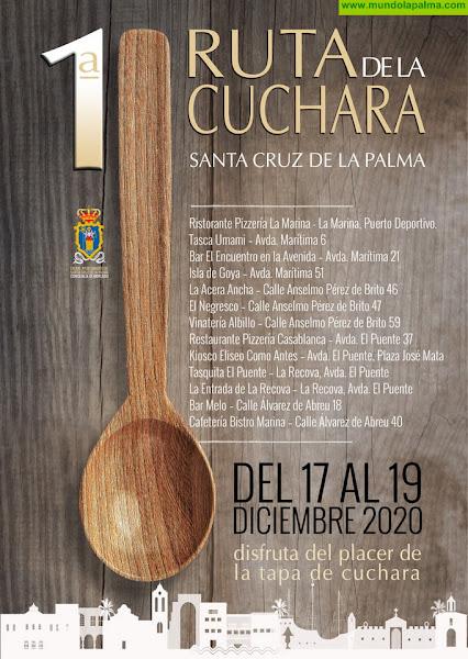"""La primera edición de la """"Ruta de la Cuchara"""" llega a Santa Cruz de La Palma"""