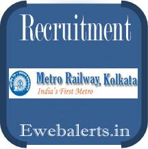 Kolkata Metro Rail Recruitment