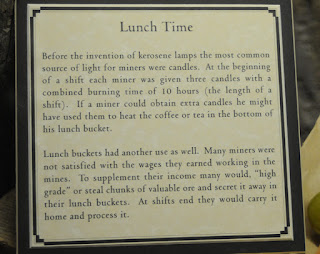 South Pass City lunch time sign