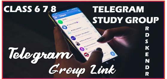 Class 8 Telegram group link
