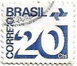 Selo Tipo cifra - 20