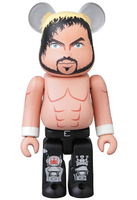 New Japan Pro Wrestling Bullet Club Kenny Omega 100% Be@rbrick Vinyl Figure by Medicom Toy