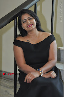 Telugu Actress Swathi Reddy Latest Stills in Black Gown  0078.JPG