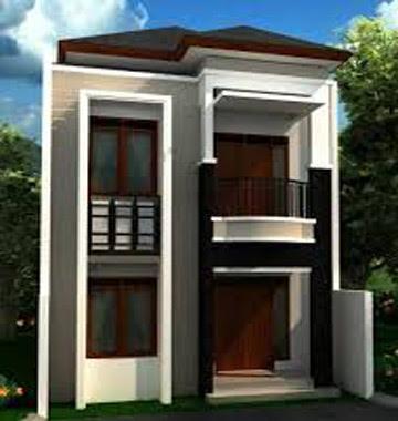 desain rumah minimalis 2 lantai dan biaya