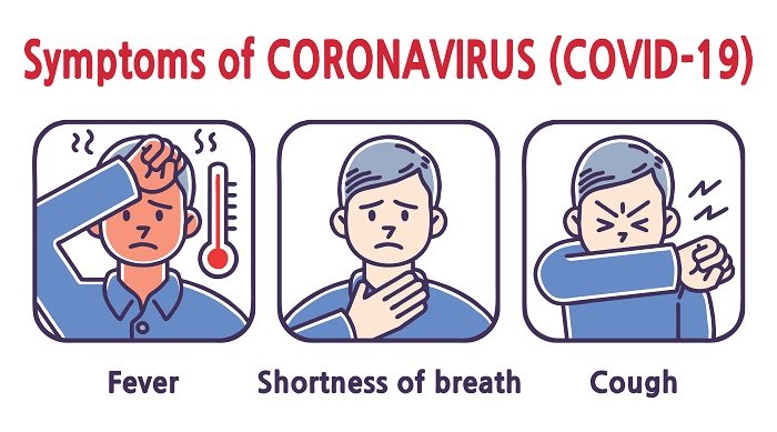 5 Stages of Covid-19 Infection-Symptoms-Early Signs