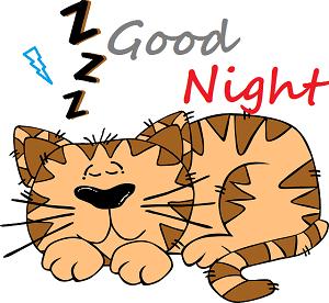 cute cartoon images of good night