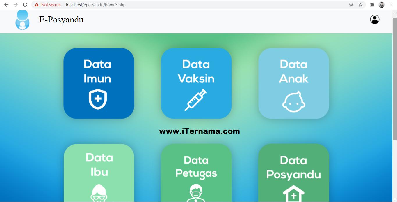 Aplikasi Pelayanan Eposyandu Berbasis Web PHP