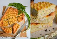 куриный пирог с сыром, яйцами и зеленью