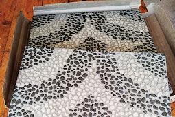 Review Keramik Lantai Mulia Seri Avalon Grey Motif Batu Sikat