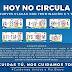 """""""Hoy No Circula"""": los automóviles cuyas placas tengan por último dígito 6 o 7"""