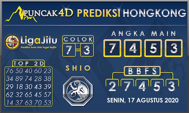 PREDIKSI TOGEL HONGKONG PUNCAK4D 17 AGUSTUS 2020